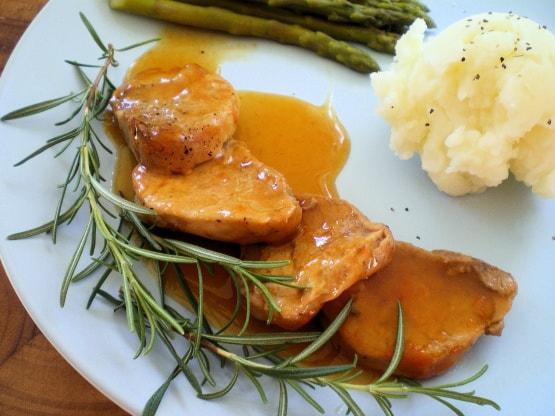 Receta De Solomillo De Cerdo Con Salsa De Naranja